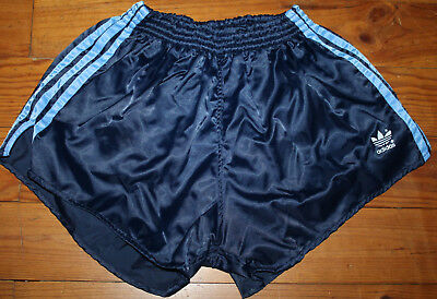 SHORTS  ADIDAS Sprinter Glanz Nylon  80er Jahre Made in West Germany Gr. D7 =M/L