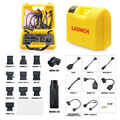 Launch X431 Diagun IV/Diagun III/5C /PRO MINI Adapter Connector Cable Yellow Box