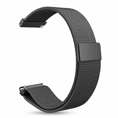 For Samsung Gear Sport/Gear S2 Classic Watch Band Milanese Stainless Steel Strap