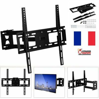 "Support TV mural Tournant orientable et inclinable 32"" ~ 60""  LCD LED Plasma FR"