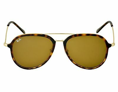 db66a236f50 Ray-Ban RB4298 710 51 Tortoise Gold Frame Light Brown Gradient Lenses Unisex