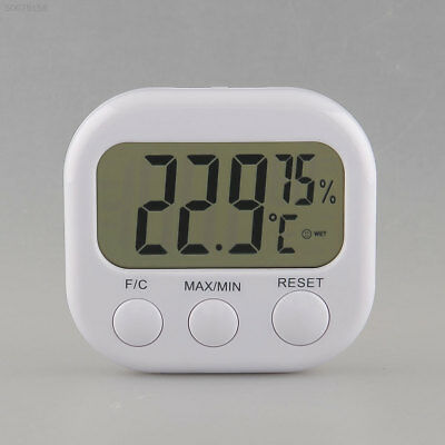 8A6B New 1PC Portable Digital Hygrometer Thermo Thermometer LCD Display White TA