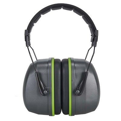 Portwest PS46 Premium Ear Muff Noise Protection SNR 34dB - GREY ***