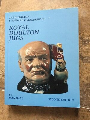 The Charlton Standard Catalogue Of Royal Doulton Jugs 2nd Ed Jean Dale Signed