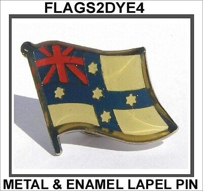 Australian Federation flag lapel pin badge INCLUDES AUSTRALIA POST TRACKING