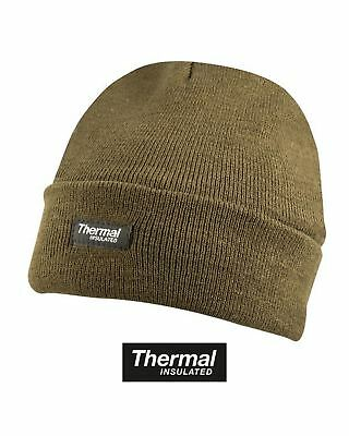 Kombat Thermal Fleece Lined Insulation Bob Hat  Cold Weather Tactical Outdoors