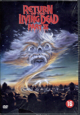 Return Of The Living Dead Ii - Dvd Nuovo E Sigillato, Import Con Audio Italiano!