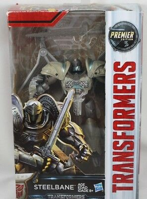 Transformers Premier Edition Steelbane The Last Knight Hasbro Dinosaur New NISB