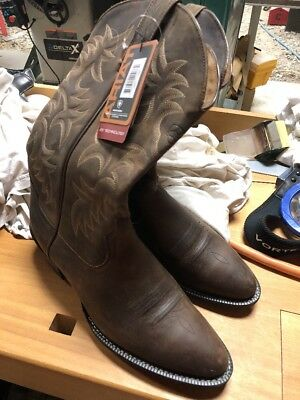 327b622e63 ARIAT MENS HERITAGE Western R Toe Cowboy Boot Distressed Brown 11 D US  Leather