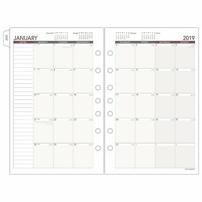 at-A-Glance Day Runner Monthly Planner Refill January 2019 - December 2019 5-...