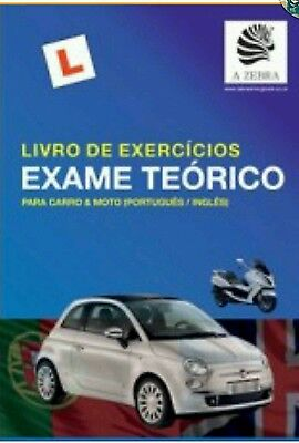 Zebra Driving Book 400pages -Portuguese/English Driving Book-FREE DELIVERY