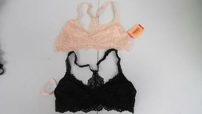 fb91a469dd XHILARATION HIGH NECK Crochet Seamless Women s Bralette Size Med ...