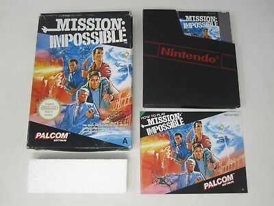 Mission Impossible - Nintendo NES (PAL) Game Boxed