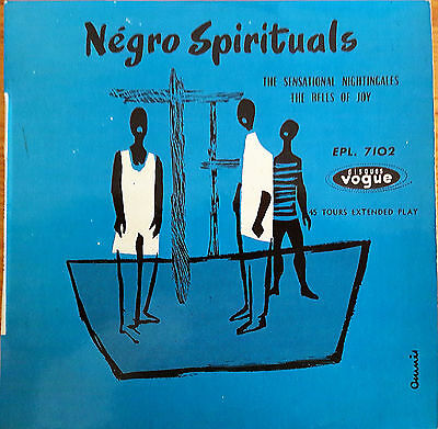 The Sensational Nightingales / The Bells Of Joy ‎– Négro Spirituals