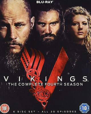 Vikings Complete Season 4 Blu-ray Travis Fimmel Katheryn Winnick 5039036079983