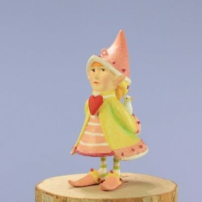 Mini Cupid Heart Elf Patience Brewster Ornament
