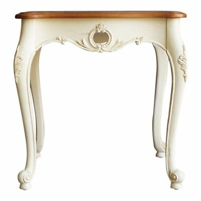 End Table / French Provincial End Table / Legacy Carved End Table by Ethan Allen