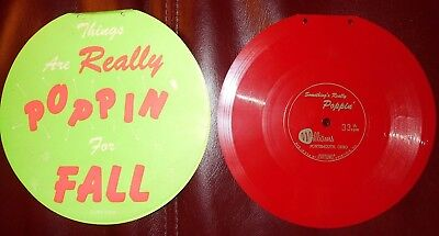 Eva-Tone 33 1/3 Flexi Record 'Everything's Really Poppin' Hi Brows Shoes 70s Ad