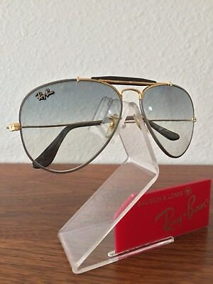 67f14a50d6789 italy vintage ray ban bausch and lomb precious metals gray ultra gradient  58mm 97c91 68ad2