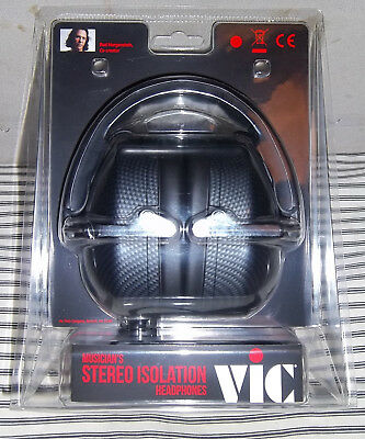 New! Vic Firth Musician's Stereo Isolation Headphones New!
