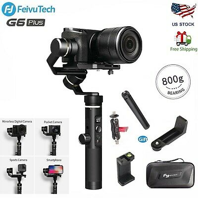 Feiyu G6 Plus 3-Axis Handheld Gimbal Stabilizer w/Follow Focus for Camera Phone