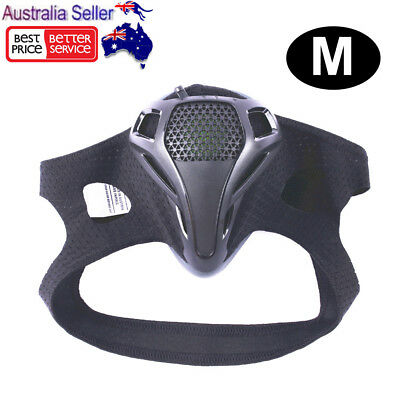 Sports Workout Training Face Mask Black Running Gym Fitness High Altitude Size-M