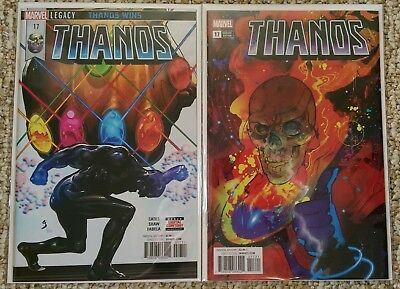 Thanos #17 Cover A & B Ward Variant Cosmic Ghost Rider Donny Cates NM or better