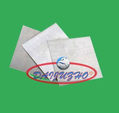 1PCS New Magnesium Foil Small Sheet  1x120x100mm (very thick) 99.8%