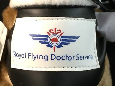Exclusive Royal Flying Doctor Service Australia Plush Flying Kangaroo Teddy Bear