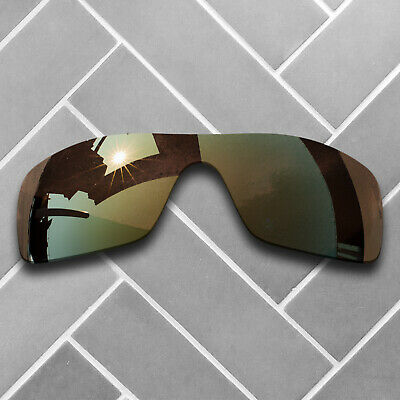 dd6dc6be40 Polarized Copper Mirrored Sunglasses Replacement Lenses for-Oakley Batwolf