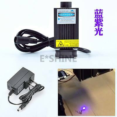 405nm 500mw Blau/Violett Laser Module Focus Adjustable laser engraving +Adapter