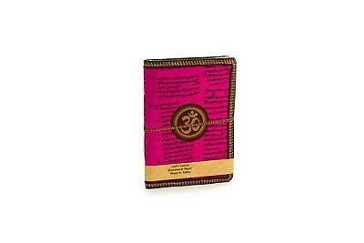 New Ohm handwritten Sot Leather Journal - Writing Notebook, Diary & Sketchpad
