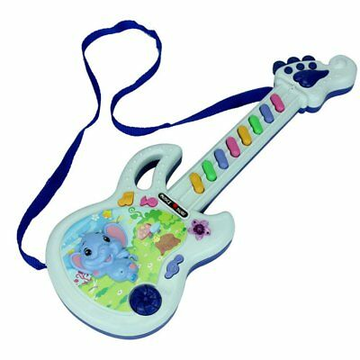 Electric Guitar Toy Musical Play Kid Boy Girl Toddler Learning Electron Toy YR