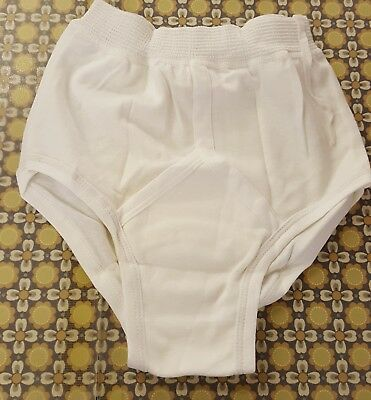 N.o.s. White Vintage underwear Y-fronts small SISSY
