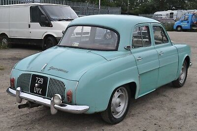 1961 Renault Dauphine Gordini Rare Car Usable Classic With Patina & Style
