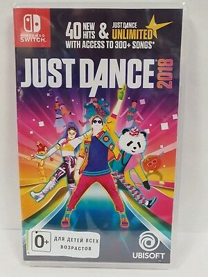 Just Dance 2018 Nintendo Switch New / Factory Sealed / Worldwide Shipping
