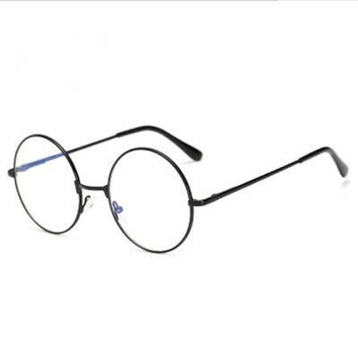 Costume Harry Potter Glasses Round Metal Frame Clear Len Wizard Glasses