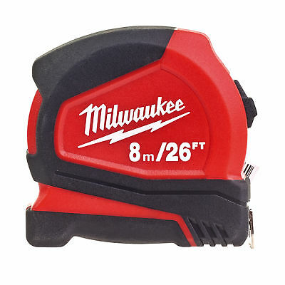 Milwaukee 4932459596 8m/26ft Pro Compact Tape Measure
