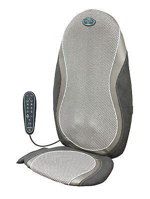 Homedics GSM-400H Technogel Shiatsu Smooth Natural Touch Back Massager with Heat
