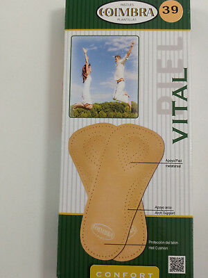 Orthotic Insoles Vital for Arch Support Plantar Fasciitis & Heel Pain
