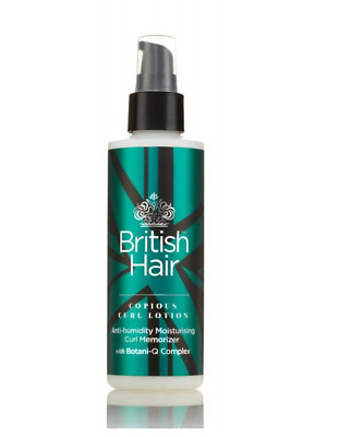 British Hair Curl Lotion Anti-Humidity Moisutrising Curl Memorizer