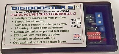 Digibooster-S Standalone Vnt Turbo Controller - Directly Controls The Turbo