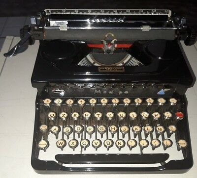 EVEREST Mod. 90 MACCHINA PER SCRIVERE del 1940 OLD TYPEWRITER NO OLIVETTI