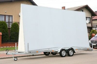 "A-Shape Advertising Trailer ""A"" 2In1 504×238 Cm"