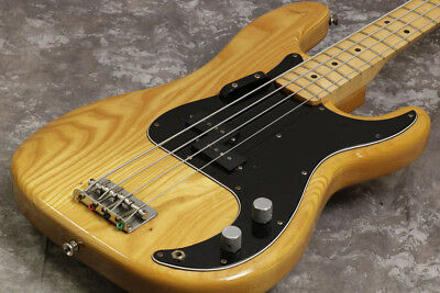 Fender USA 1978 Precision Bass Natural With Hard Case