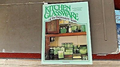 Kitchen Glassware Of The Depression Years Glass Book Cr 1987