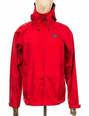 Patagonia Torrentshell Jacket - Fire w/Big Sur Blue