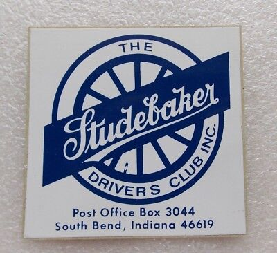 The Studebaker Drivers Club Sticker choice peel & stick to front or from behind