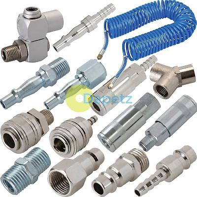 Air Line Hose Coupler Fittings Euro & Vertex Female Male End Quick Connector