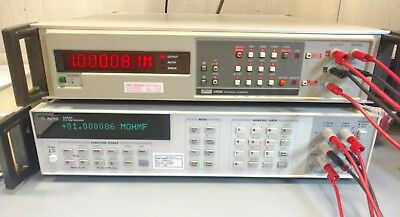 Fluke 5450A Resistance Calibrator W/ NIST traceable calibration and Certificate